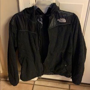 Black North Face coat